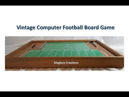 electronic table football game vintage electronic football board game youtube