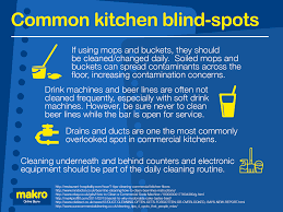 keep kitchen clean keeping catering equipment clean makro co uk