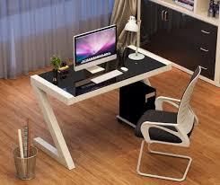 Z Shaped Desk Bd064 Z Shaped Tempered Glass Table