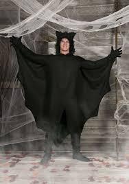 bat costume fleece bat costume
