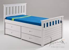 ferrara captains bed frame with storage double 479