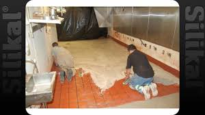 kfc overnight over tile floor coating silikal youtube