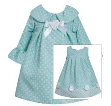 bonnie jean baby easter coat dress aqua dot baby easter
