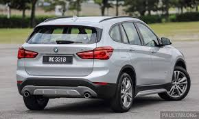 bmw car price in malaysia ckd bmw x1 and x4 get eev incentives xdrive20d for x1 lower