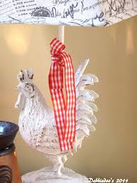 Cracker Barrel Home Decor by Rooster Lamp French Country Home Decor Debbiedoos