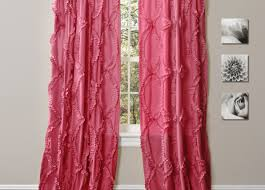 Anthropologie Ruffle Shower Curtain Light Pink Ruffle Curtains Full Size Of Colorful Curtainss D Diy