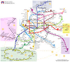 Metro Map Madrid by File Red De Metro De Madrid Svg Wikimedia Commons