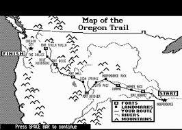 Oregon Trail Maps by The Oregon Trail Jood Misconstrued