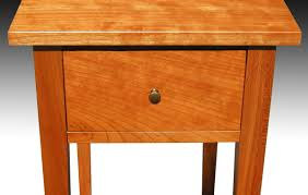 shaker end table plans three shaker end tables with shelf cherry finewoodworking
