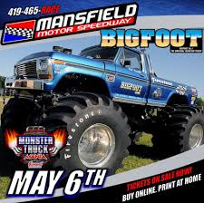 bigfoot the original monster truck mansfield ohio mansfield motor speedway monster truck monster