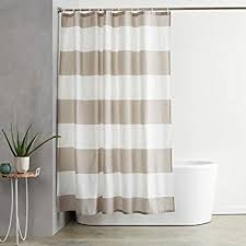 How To Get Mildew Out Of Curtains Amazon Com Interdesign Mildew Free Water Repellent Zeno Shower