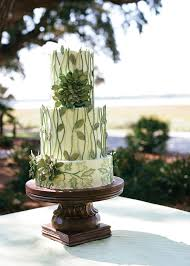 wedding cake greenery green wedding cake archives southern weddings