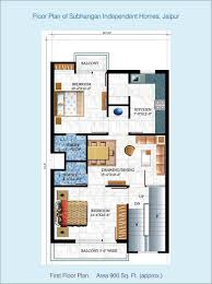 1 floor plan omaxe city 2 bhk house plans at 8 00 sq ft bright