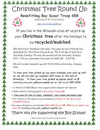 christmas tree round up benefiting boy scout troop 658 city of