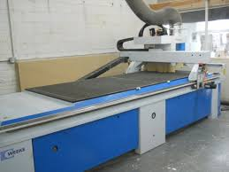 used cnc router table weeke vantage 33m cnc router used machine for sale