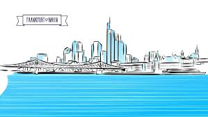 nyc animated panorama sketch with headline hand drawn artwork