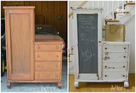 Repurposed Furniture Before And After by Simply Stone Creek Repurposing An Antique Chifferobe