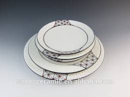 personalized dinner plate personalized porcelain plates emboss decal printing dinner plates