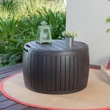 keter circa all weather 37 gallon 27 5 in circular storage deck