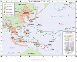 Ww2 Map Atlas Map World War Ii Pacific Theater