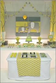 yellow and grey baby shower decorations baby shower decorations yellow colors yellow and gray ba shower