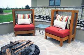 Mesh Patio Table by Custom Patio Furniture Banker Wire Project
