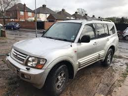 mitsubishi shogun 3 2gdi auto 4x4 service history for sale in
