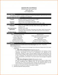 computer science resume resume format for freshers computer science engineers sle doc