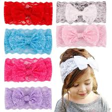 wholesale headbands girl hair bands lace headband childrens accessories bands