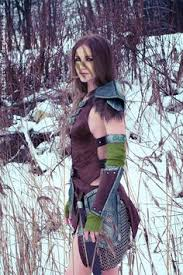 Skyrim Halloween Costume Aela Huntress Elder Scrolls U0027jays