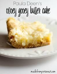 gooey butter cake recipe gooey butter cake yellow cake mixes