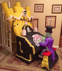 halloween airblown inflatable lawn decorations image gemmy prototype halloween organ player inflatable airblown