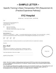 certification sample letters