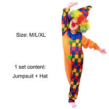 Kids Halloween Clown Costumes Clothes Luggage Picture Detailed Picture Halloween