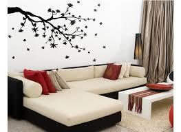 joyous design a wall sticker large butterfly vine flower wall