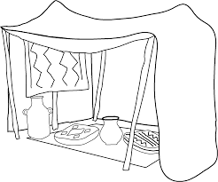 tent coloring pages getcoloringpages com