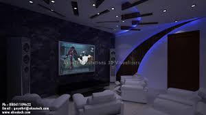 modern home theater decor home improvement home design