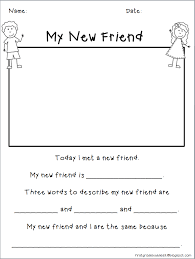 my new friend freebie would be great to adapt for aac users to