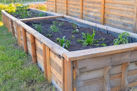 wood for raised garden box home outdoor decoration