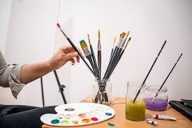 amazon com goldstar craft no shedding 13pcs paint brush set