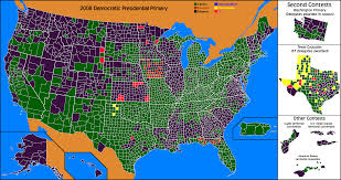 Wisconsin Map By County by Jurisdynamics Obama Versus Clinton County By County