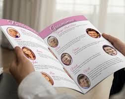 magazine wedding programs 9 best magazine programs images on wedding magazines