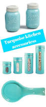 Owl Canisters by Brighten Things Up With Turquoise Kitchen Accessories Color And