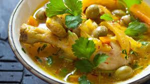 poulet aux citrons confits cuisine recette tajine de poulet aux olives et aux citrons confits
