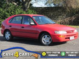 toyota hatchback 1994 toyota corolla nz new auto hatchback cash4cars sold