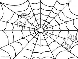 Spider Web Coloring Page Menmadeho Me Spider Web Coloring Page