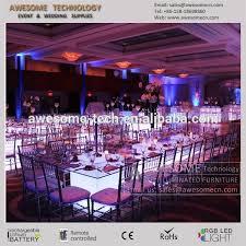 led lighting for banquet halls best quality nice wedding hall furniture rectangular led banquet
