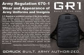 no logos and black is the new black just reference army regulation