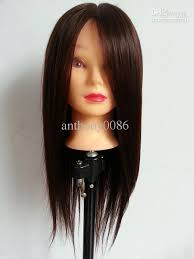 plastic hair salon school hairdressing pvc plastic mannequin model