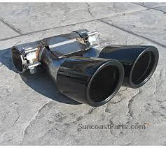 porsche boxster 987 exhaust suncoast porsche parts accessories black exhaust tip 987